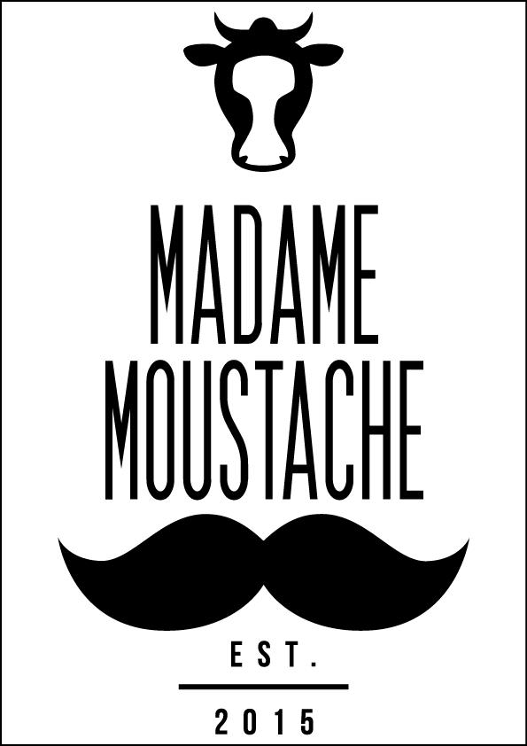 Madame Moustache logo